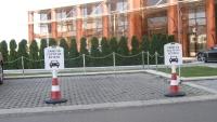 PVC ограничител за паркинг