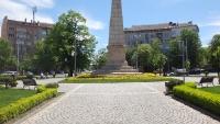 Пейка Париж на Руски паметник