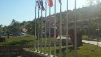 6-метров пилон за знаме в остров Тасос_1