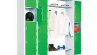Шкаф за багаж с релса за закачалки