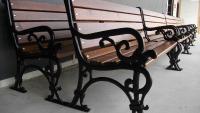 Алуминиева пейка с облегалка Лондон